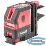 Уровень лазерный MATRIX ML03  10м, ±0,5мм/1м, 635нм,1 верт.1 гор. плоскость, подставка магнитная, 35057