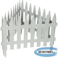 "Забор декоративный ""Рейка"", 28 х 300 см, белый// PALISAD"