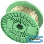 Трос металлополимерный  прозрачный ПР-2.5, (2,5мм толщина, катушка 200м.п.) // СИБРТЕХ