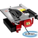 Плиткорез электрический ЗУБР МАСТЕР ЭП-180-600Н  диск 180 мм, глубина реза 90°-34мм/45°-17мм, стол 330х360мм, 2950об/мин, 600Вт