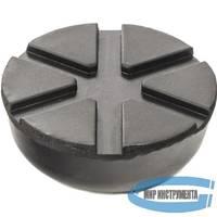 Резиновая опора для подкатного домкрата универсальная, D=89 mm, d=60 mm, H=35 mm// MATRIX