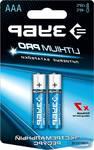 """Батарейка литиевая ЗУБР """"Lithium PRO""""Li-FeS2, """"AAA"""", 1,5В, 2шт"""