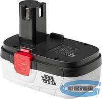 Батарея аккумуляторная ЗУБР МАСТЕР ЗАКБ-18 N15  Ni-Cd