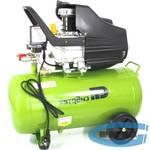 Компрессор воздушный КК-1500/50, 1,5 кВт, 198 л/мин, 50 л, прямой привод, масляный, СИБРТЕХ, 58039
