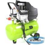Компрессор воздушный КК-1500/24, 1,5 кВт, 198 л/мин, 24 л, прямой привод, масляный, СИБРТЕХ, 58037