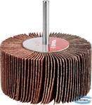 """Круг шлифовальный  веерный лепестковый на шпильке ЗУБР """"МАСТЕР"""" тип КЛО, зерно-электрокорунд нормальный, P60, 40х80мм"""