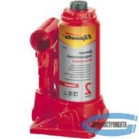 Домкрат гидравлический бутылочный SPARTA Compact 50337  16 т, h подъема 205-400 мм