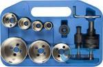 Набор алмазных коронок с оснасткой ЗУБР Профессионал 29870-H7 D=19, 25, 28, 35, 45, 55, 65 мм, 7 предметов
