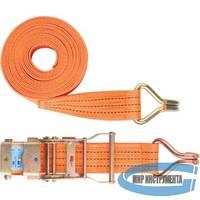 Ремень багажный с крюками 0,05х10 м., храповый механизм //STELS