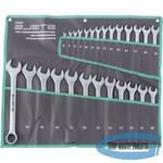 Набор ключей комбинированных 6-32 мм, 26 шт., CrV, матовый хром// STELS