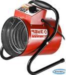 Пушка тепловая электрическая ЗУБР КОМПАКТ ЗТП-М1-3000  круглая, гладкий нерж ТЭН, двойные стенки (термос), термостат, 3/1.5 кВт, 220 В