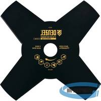 Диск для триммера, 230 х 25,4 толщина 1,6 мм, 4 лезвия// DENZEL