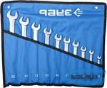 Набор комбинированных гаечных ключей ЗУБР 10 шт, 6 - 22 мм
