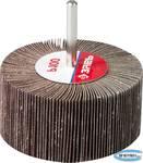 """Круг шлифовальный  веерный лепестковый на шпильке ЗУБР """"МАСТЕР"""" тип КЛО, зерно-электрокорунд нормальный, P100, 40х80мм"""