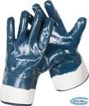 Перчатки рабочие с полным нитриловым покрытием ЗУБР  размер XL (10)