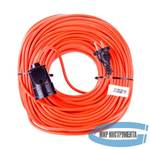 Удлинитель-шнур силовой, 50м, 1 розетка, 10A, серия УХ10// Denzel
