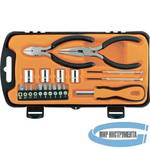 Набор слесарно монтажный SPARTA 13546  19 предметов
