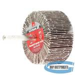 Круг лепестковый для дрели, 60 х 30 х 6 мм, Р 100 // MATRIX