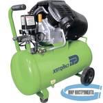 Компрессор воздушный КК-2200/50, 2,2 кВт, 350 л/мин, 50 л, прямой привод, масляный// Сибртех