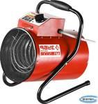 Пушка тепловая электрическая ЗУБР КОМПАКТ ЗТП-М1-5000  круглая, гладкий нерж ТЭН, двойные стенки (термос), термостат, 4,5/3 кВт, 220 В