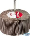 """Круг шлифовальный  веерный лепестковый на шпильке ЗУБР """"МАСТЕР"""" тип КЛО, зерно-электрокорунд нормальный, P320, 40х80мм"""