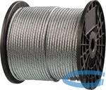 Трос стальной оцинкованный ЗУБР ПРОФЕССИОНАЛ  DIN 3055, d=3 мм, L=200 м