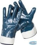 Перчатки рабочие с полным нитриловым покрытием ЗУБР  размер L (9)