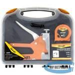 Набор SPARTA 42003  степлер мебельный регулируемый, скобы 500 шт, рулетка 2м., тип скобы 53, 4-14 мм