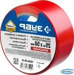 Разметочная клейкая лента ЗУБР Профессионал 12244-50-25 цвет красный, 50мм х 25м