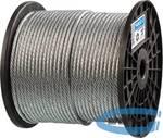Трос стальной оцинкованный ЗУБР ПРОФЕССИОНАЛ  DIN 3055, d=6 мм, L=120 м
