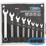 Набор ключей комбинированных 8-19 мм, 8 шт., CrV, холодный штамп // GROSS