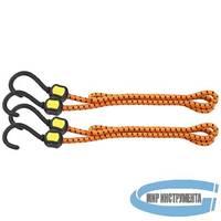 Резинки багажные, обрезиненные крюки, 2 шт, 600 мм// STELS